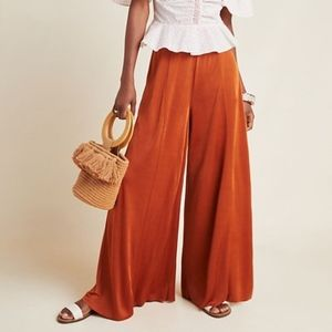 Comfy Maeve for Anthropologie Knit Wide Leg Pants